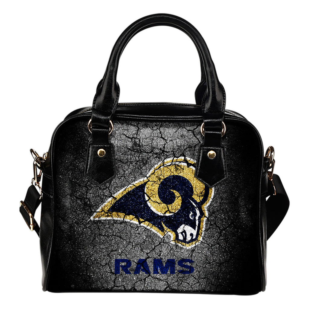Wall Break Los Angeles Rams Shoulder Handbags Women Purse