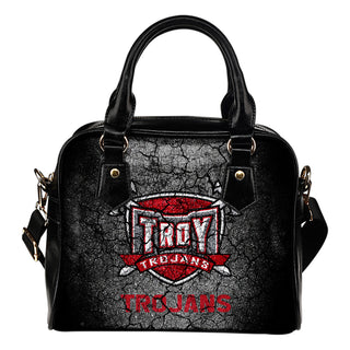 Wall Break Troy Trojans Shoulder Handbags Women Purse