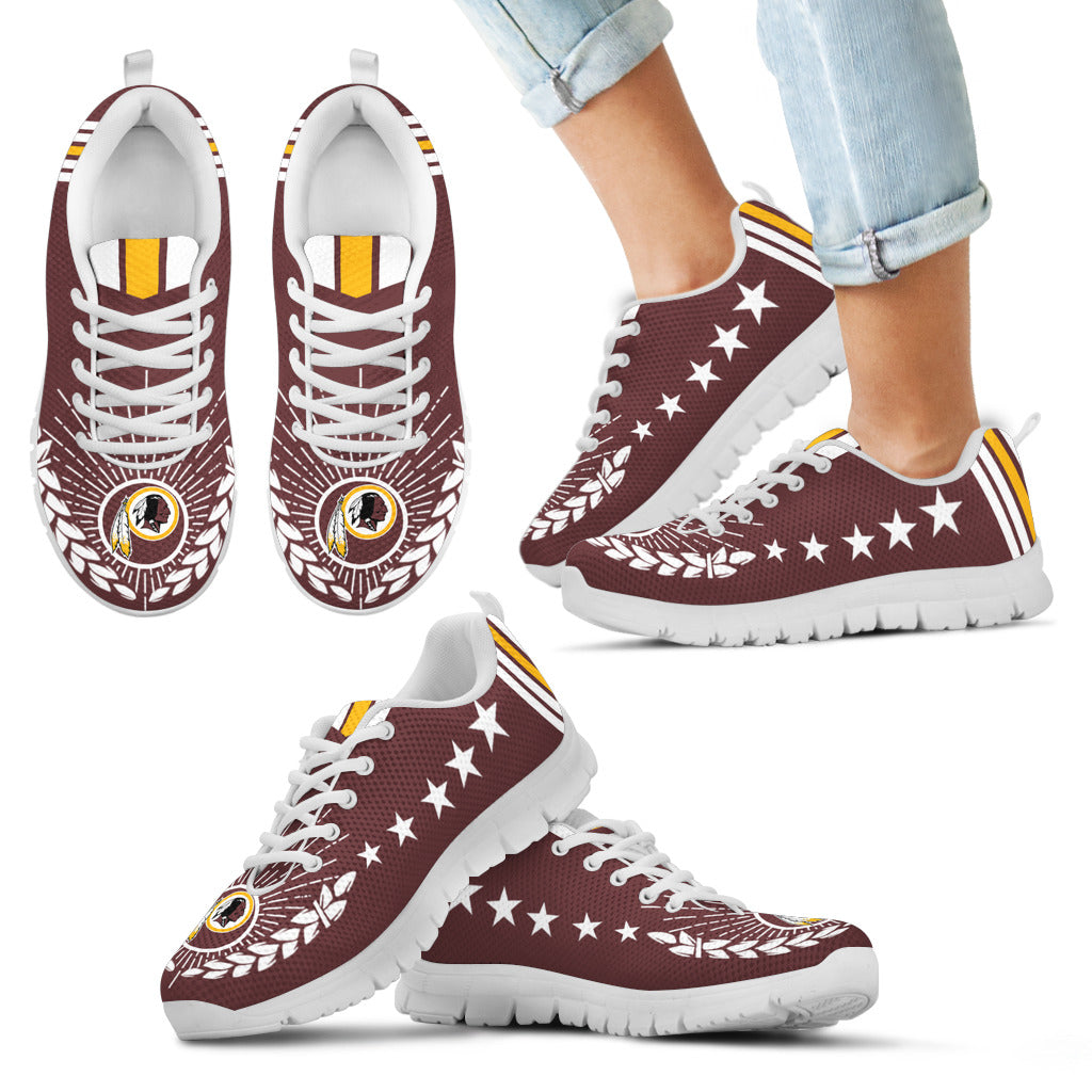 Line Of Stars Victory Washington Redskins Sneakers