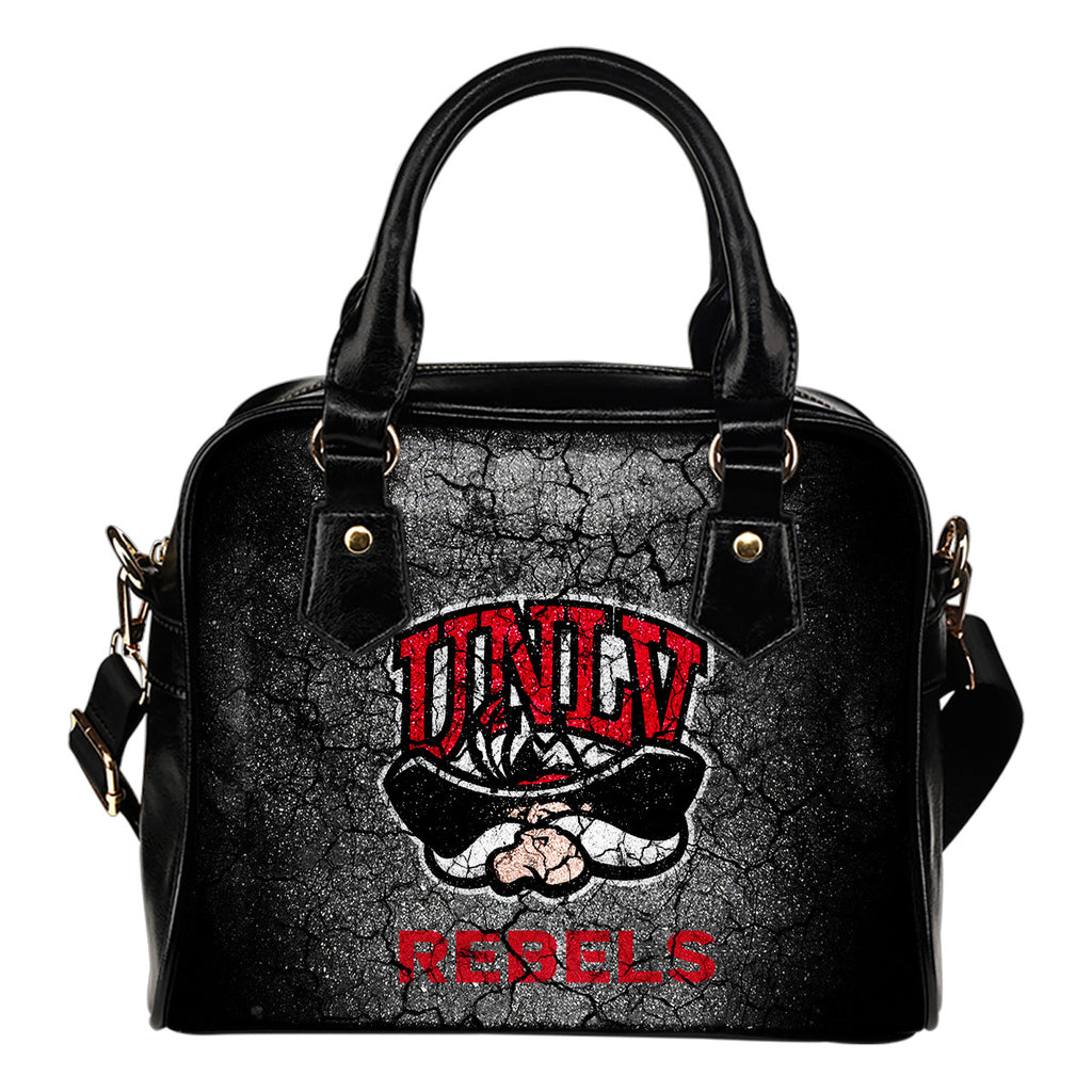 Wall Break UNLV Rebels Shoulder Handbags Women Purse