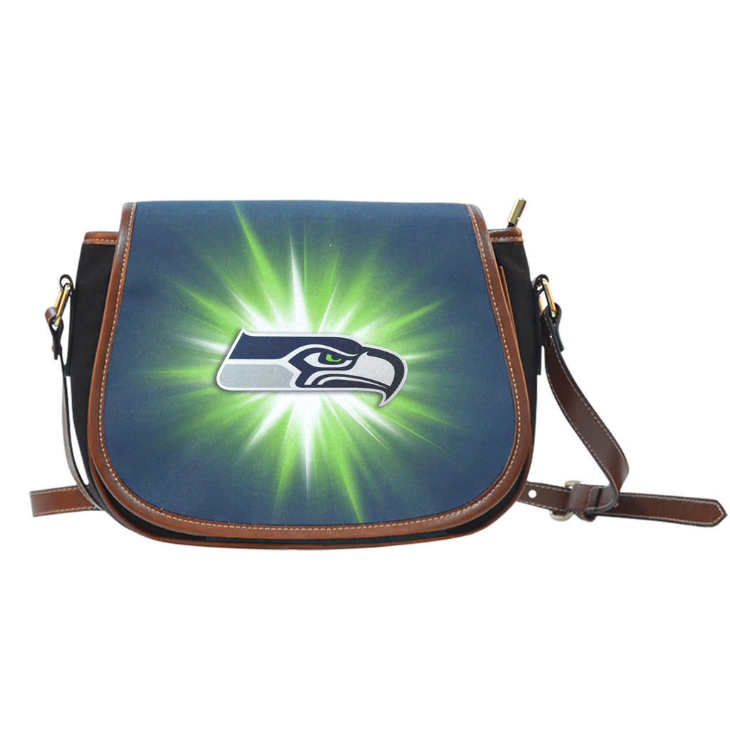 Seattle Seahawks Flashlight Saddle Bags - Best Funny Store