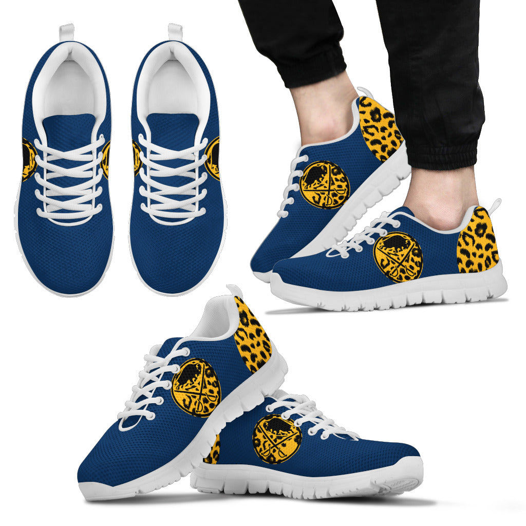 Cheetah Pattern Fabulous Buffalo Sabres Sneakers