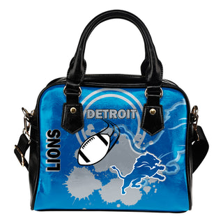 The Victory Detroit Lions Shoulder Handbags