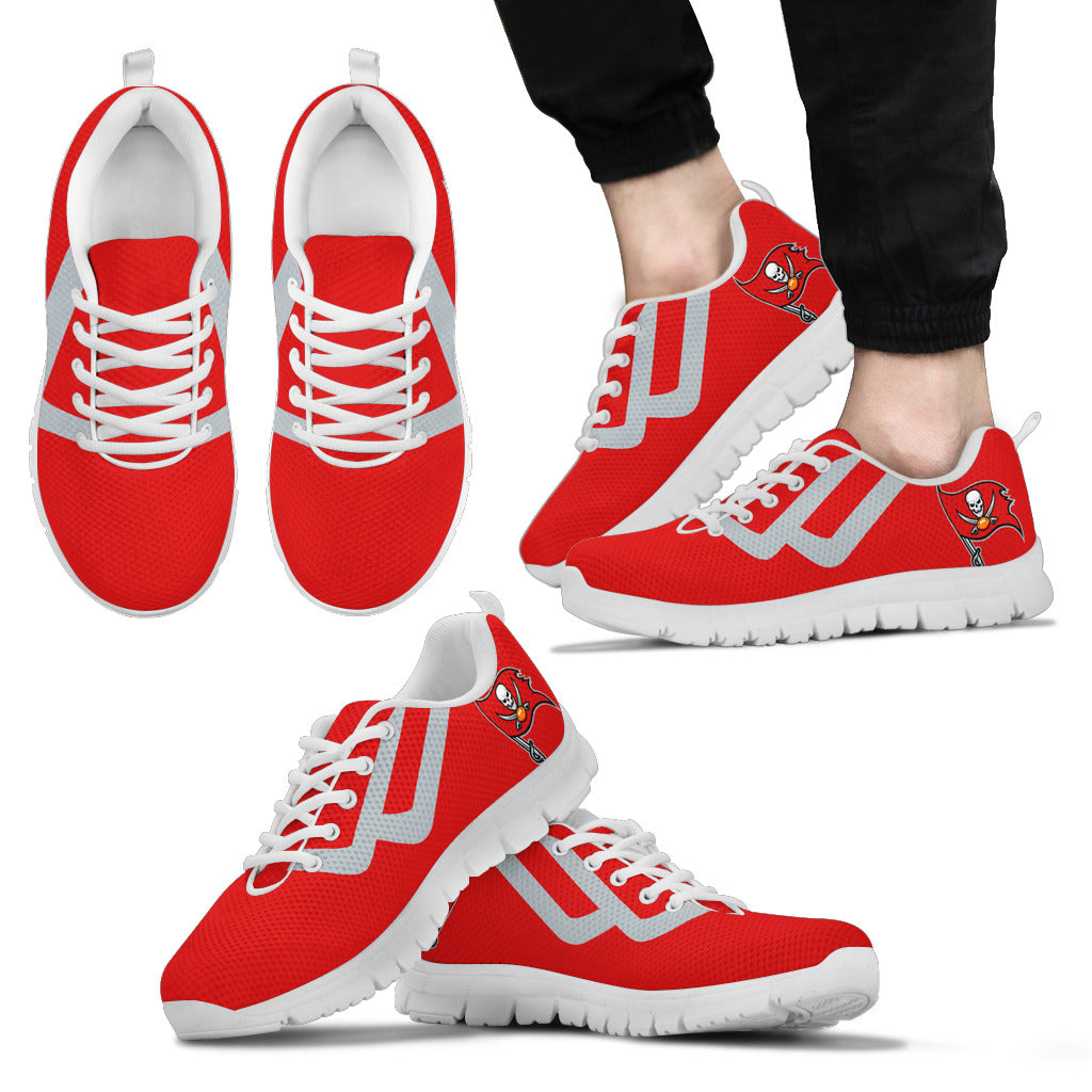 Line Bottom Straight Tampa Bay Buccaneers Sneakers