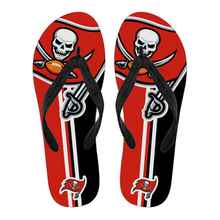 Tampa Bay Buccaneers Fan Gift Two Main Colors Flip Flops