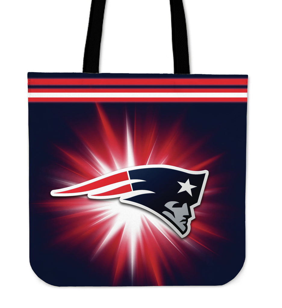New England Patriots Flashlight Tote Bags - Best Funny Store