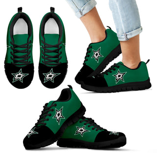 Two Colors Aparted Dallas Stars Sneakers