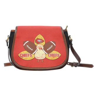 Thanksgiving Kansas City Chiefs Saddle Bags - Best Funny Store