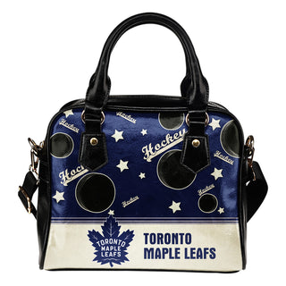 Personalized American Hockey Awesome Toronto Maple Leafs Shoulder Handbag