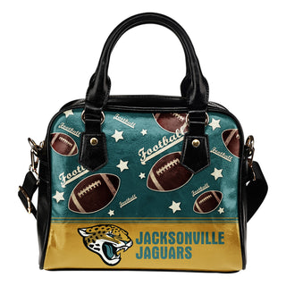 Personalized American Football Awesome Jacksonville Jaguars Shoulder Handbag