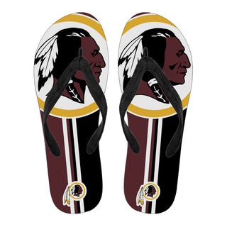 Washington Redskins Fan Gift Two Main Colors Flip Flops