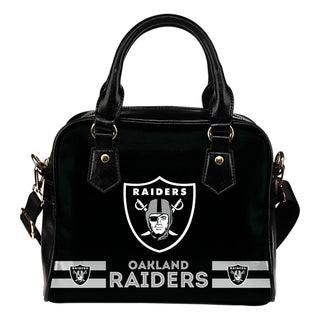 Oakland Raiders For Life Shoulder Handbags