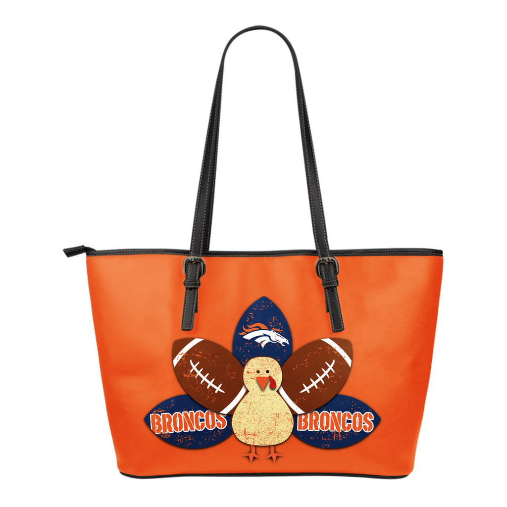 Thanksgiving Denver Broncos Leather Bags - Best Funny Store