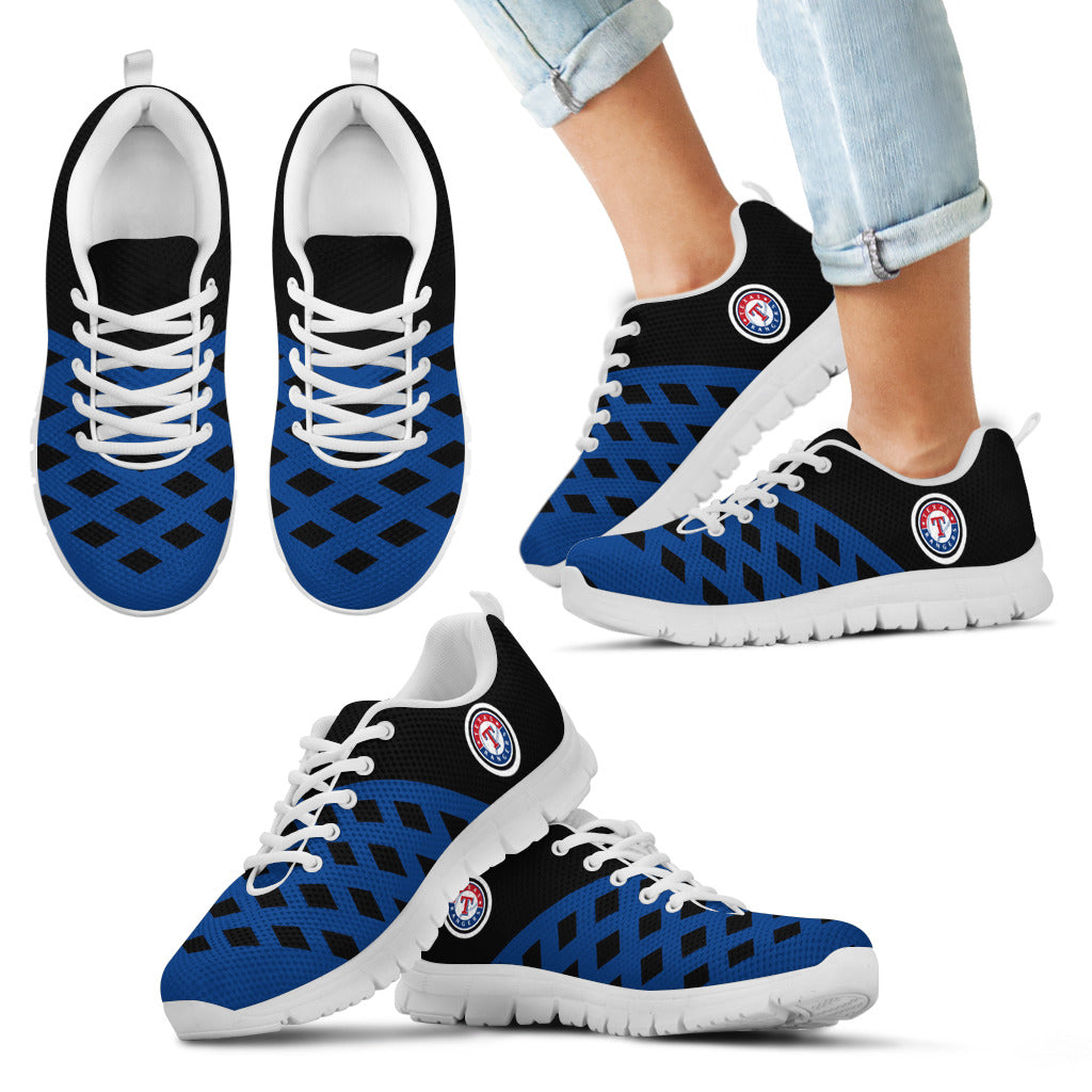 Two Colours Cross Line Texas Rangers Sneakers
