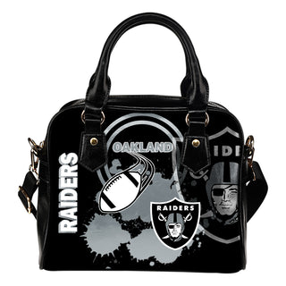 The Victory Oakland Raiders Shoulder Handbags