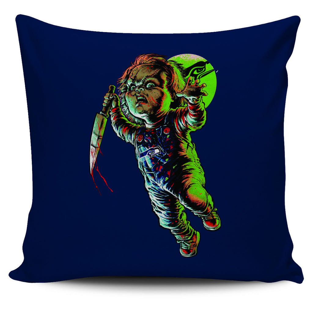 Chucky Seattle Seahawks Pillow Covers - Best Funny Store