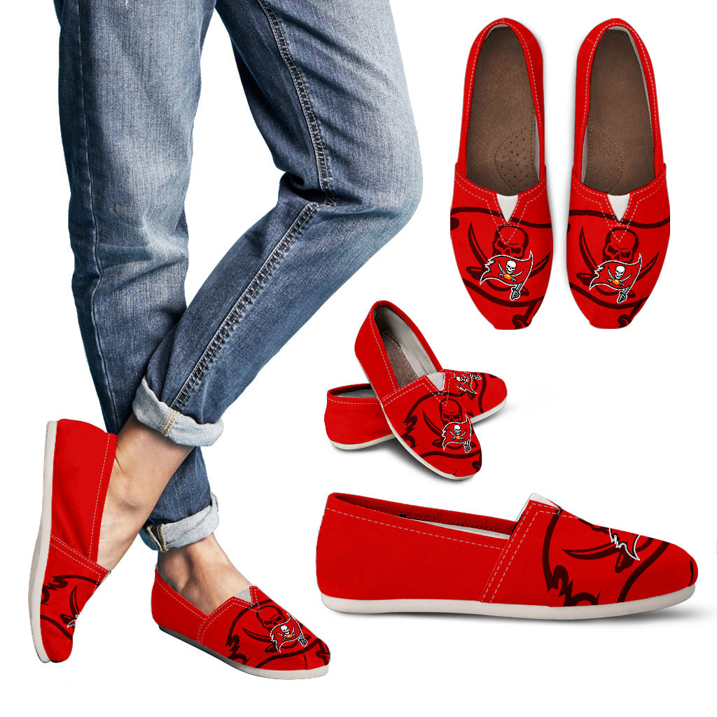 Enormous Logo Mix Tiny Logo Fantastic Tampa Bay Buccaneers Casual Shoes