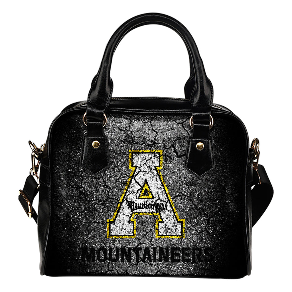 Wall Break Appalachian State Mountaineers Shoulder Handbags Women Purse