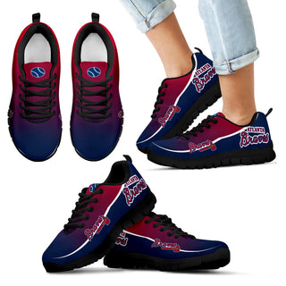 Colorful Atlanta Braves Passion Sneakers
