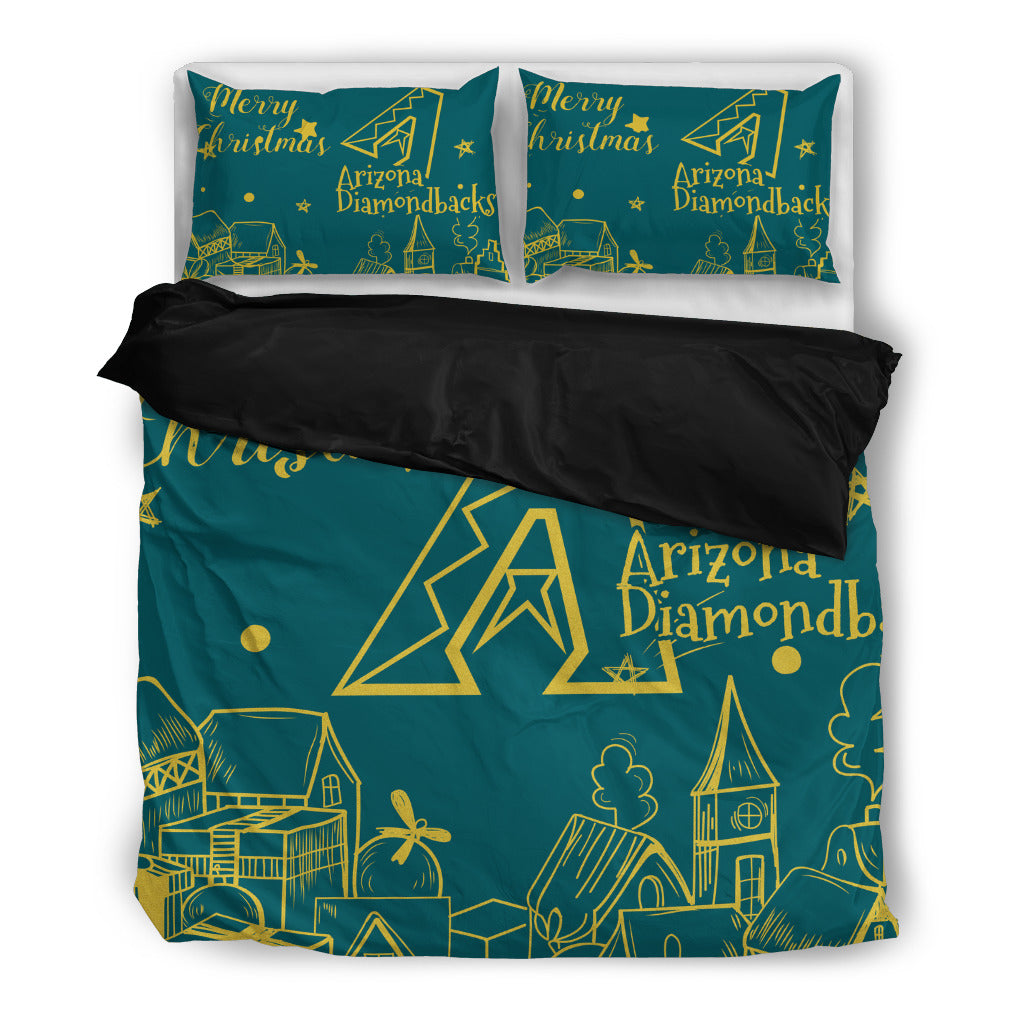 Nice Present Comfortable Christmas Arizona Diamondbacks Bedding Sets