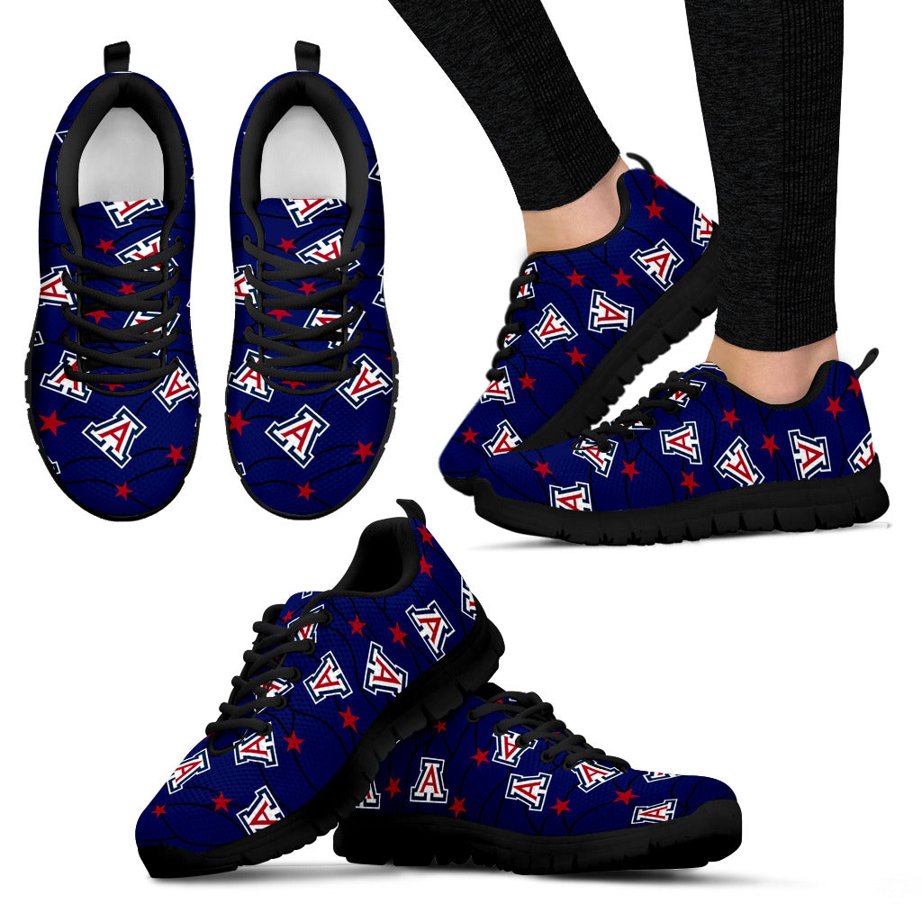 Star Twinkle Night Arizona Wildcats Sneakers