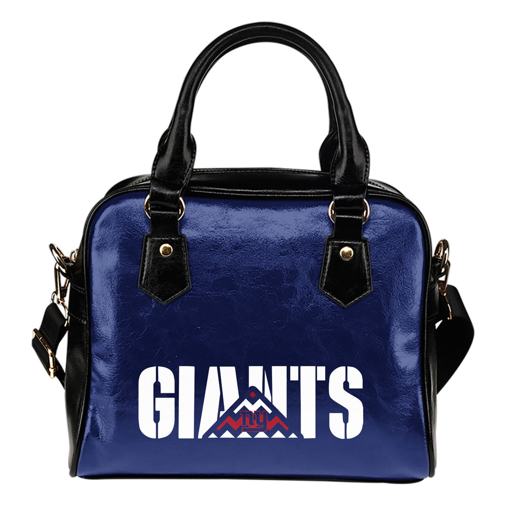New York Giants Mass Triangle Shoulder Handbags
