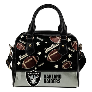 Personalized American Football Awesome Oakland Raiders Shoulder Handbag