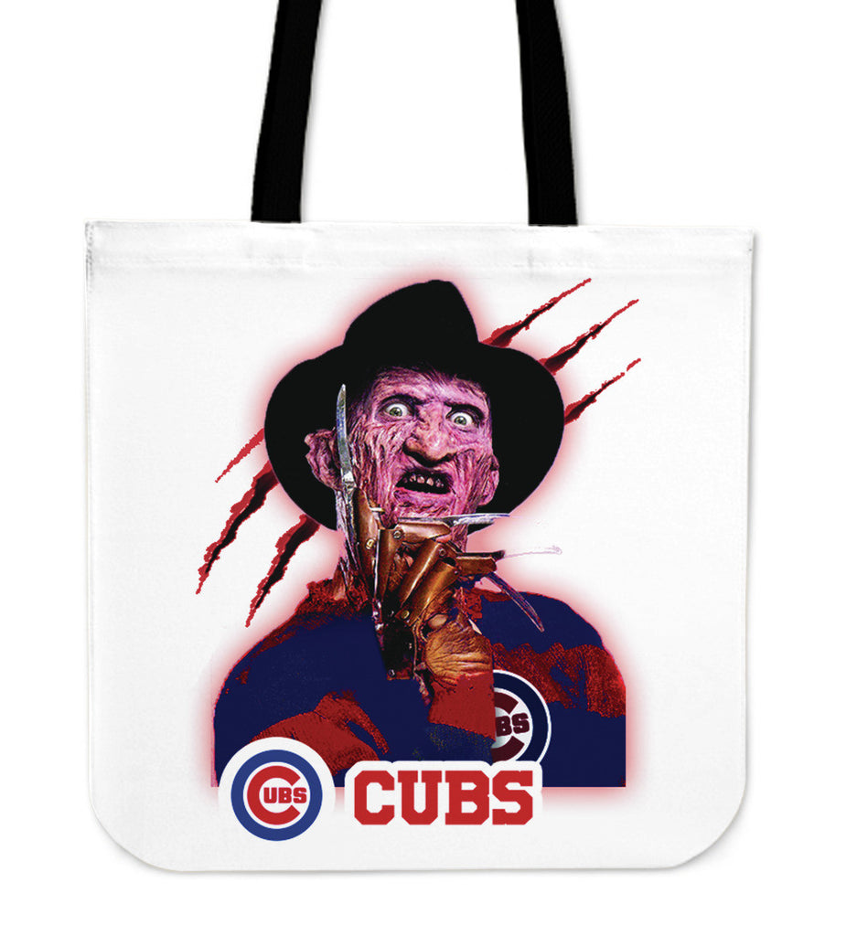 Chicago Cubs Freddy Tote Bag - Best Funny Store