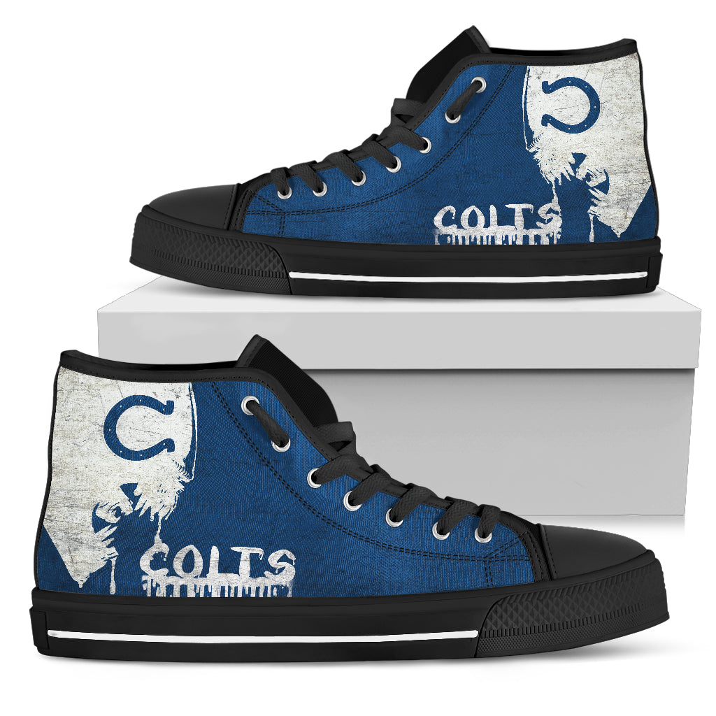 Alien Movie Indianapolis Colts High Top Shoes