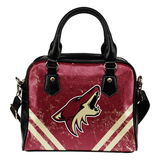 Couple Curves Light Good Logo Arizona Coyotes Shoulder Handbags