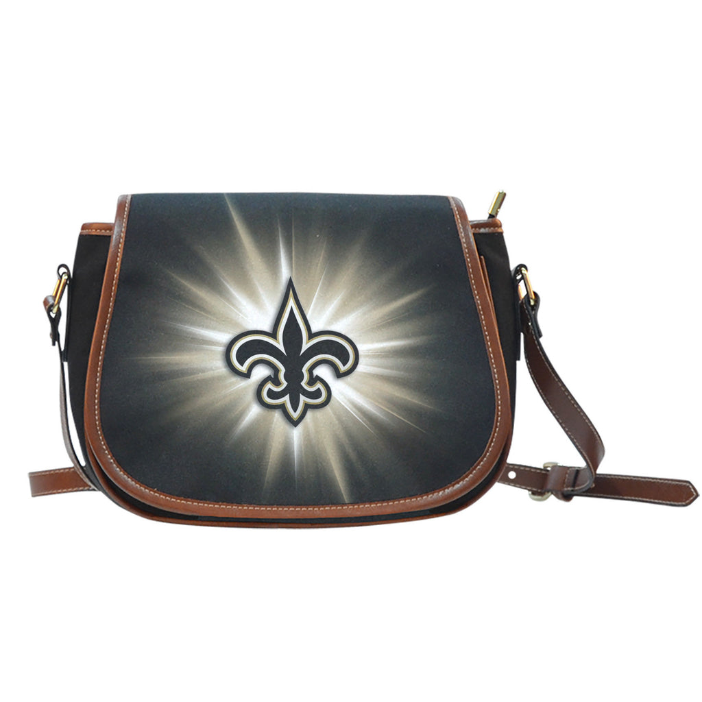 New Orleans Saints Flashlight Saddle Bags - Best Funny Store
