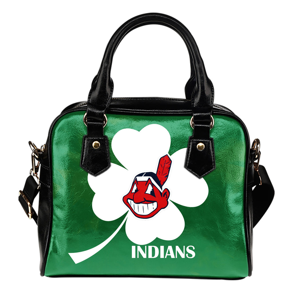 Cleveland Indians Blowing Amazing Stuff Shoulder Handbags
