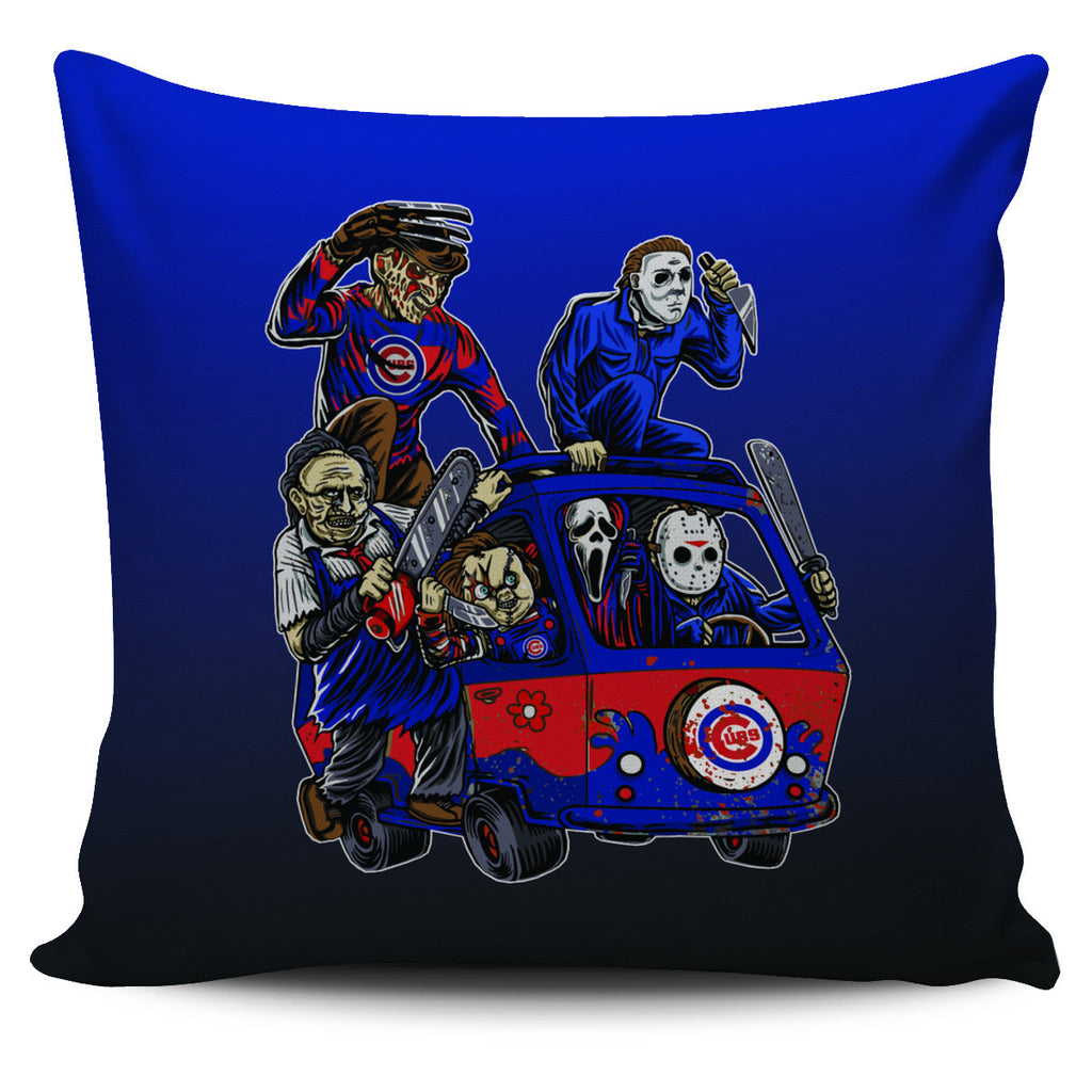 The Massacre Machine Chicago Cubs Pillow Covers