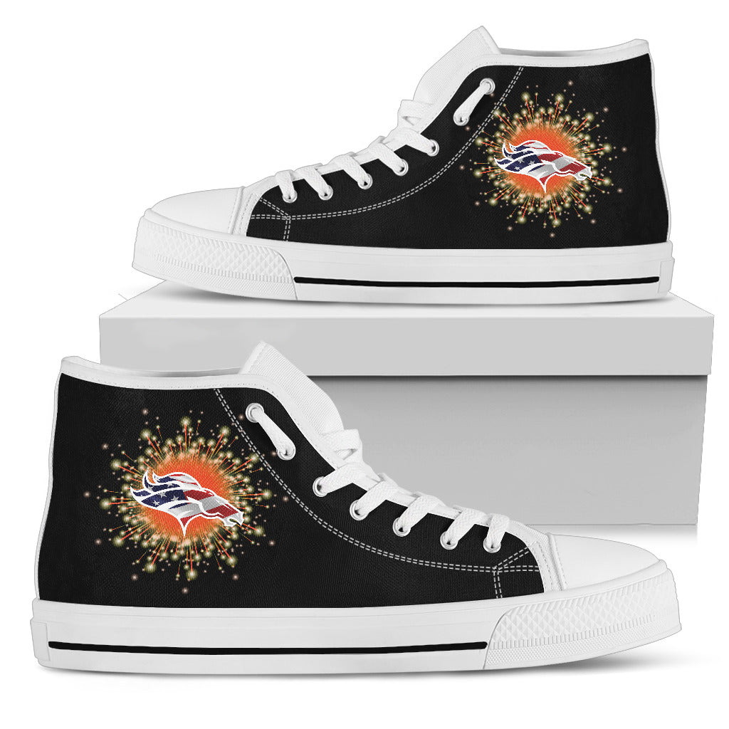 Fireworks Denver Broncos High Top Shoes