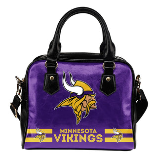 Minnesota Vikings For Life Shoulder Handbags