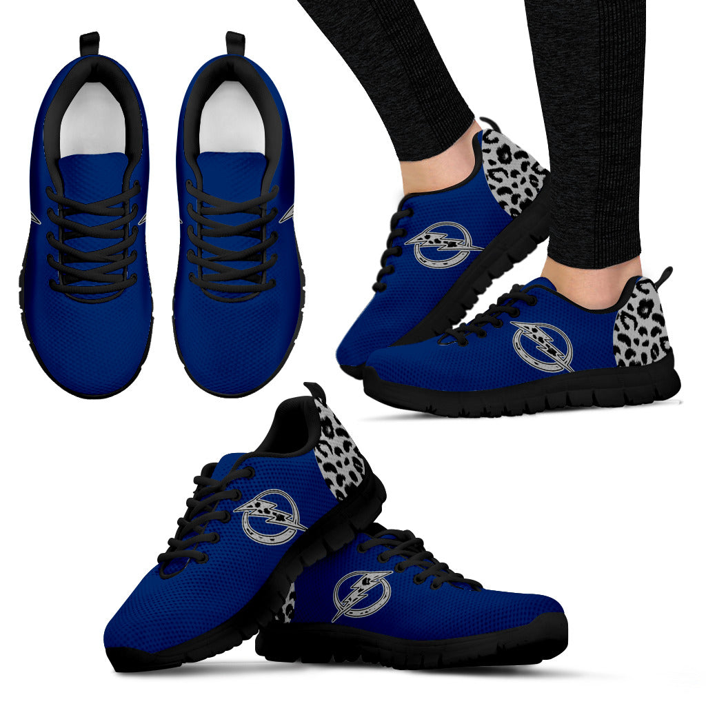 Cheetah Pattern Fabulous Tampa Bay Lightning Sneakers