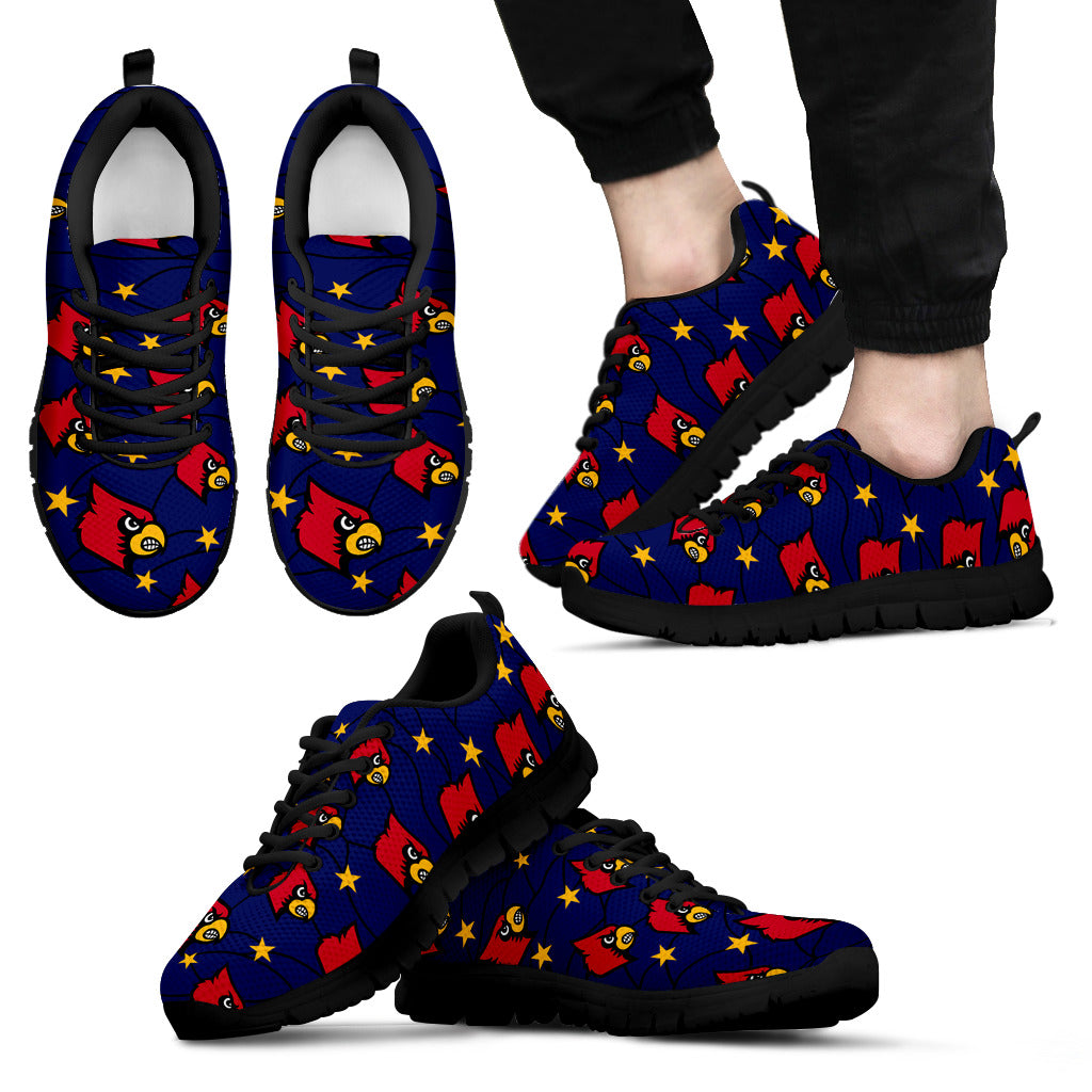Star Twinkle Night Louisville Cardinals Sneakers