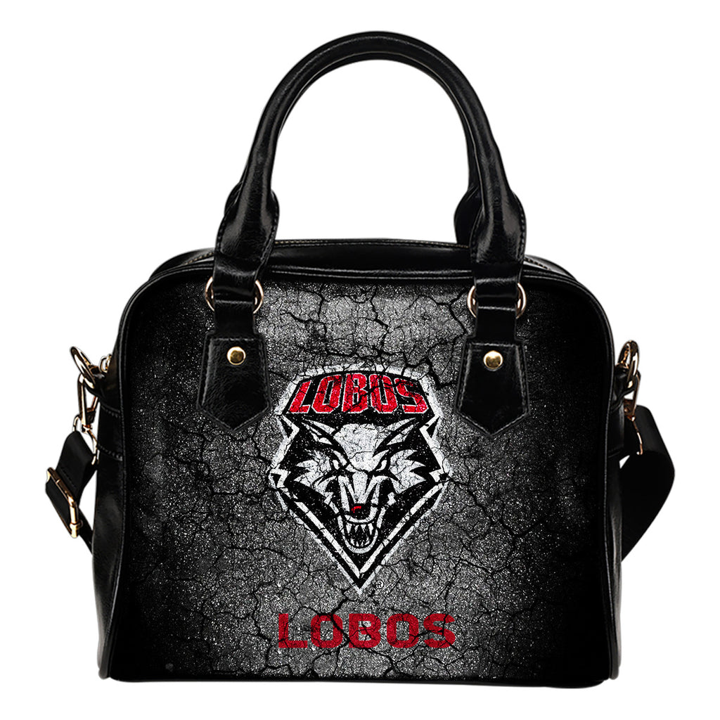 Wall Break New Mexico Lobos Shoulder Handbags Women Purse