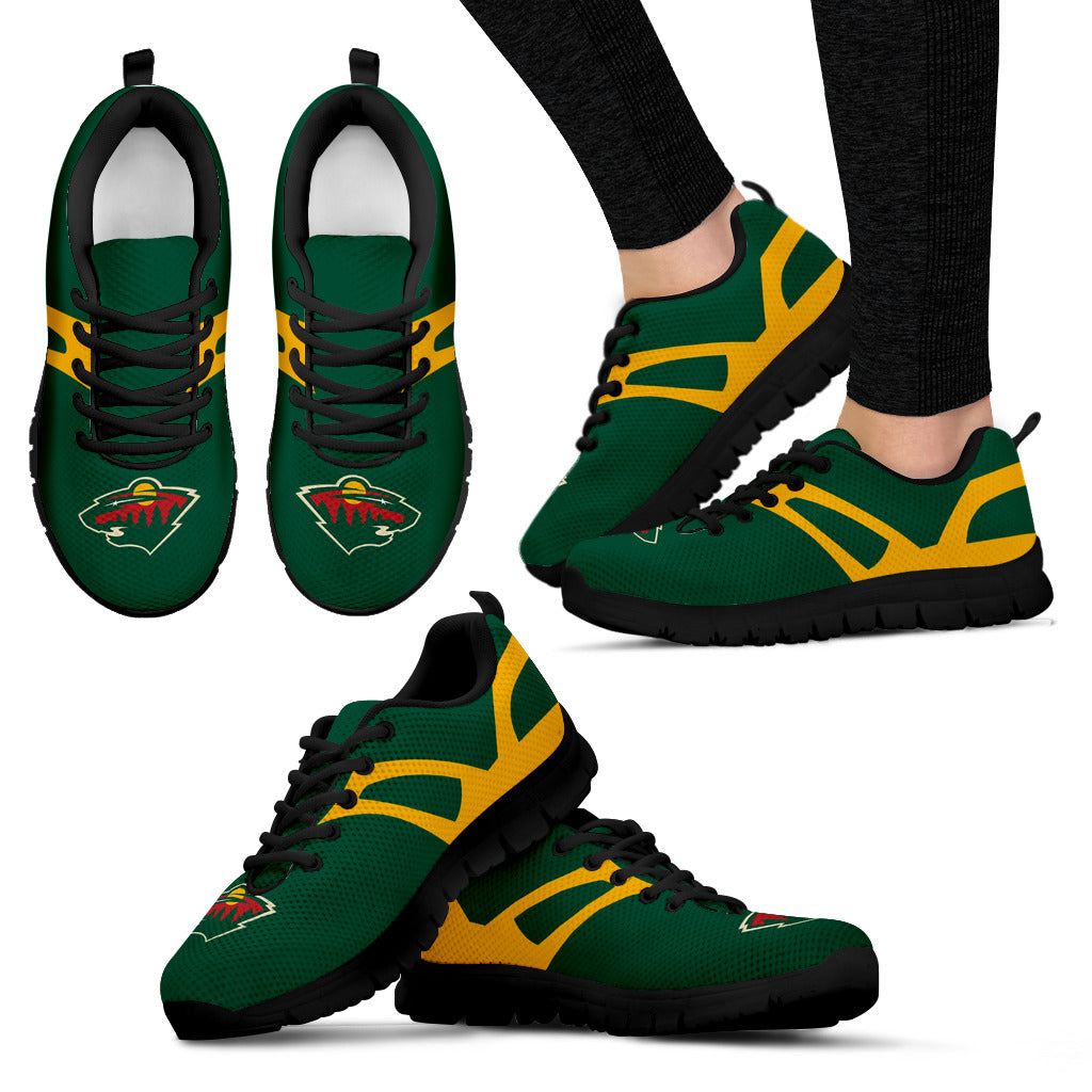 Line Amazing Bottom Minnesota Wild Sneakers