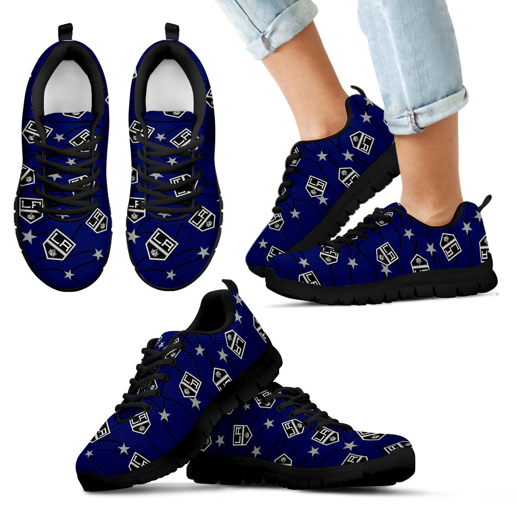 Star Twinkle Night Los Angeles Kings Sneakers