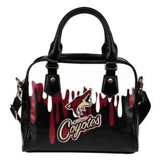 Color Leak Down Colorful Arizona Coyotes Shoulder Handbags