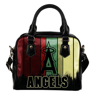 Vintage Silhouette Los Angeles Angels Purse Shoulder Handbag