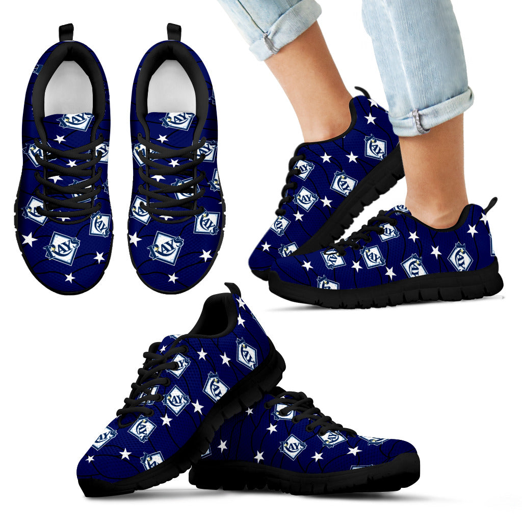 Star Twinkle Night Tampa Bay Rays Sneakers