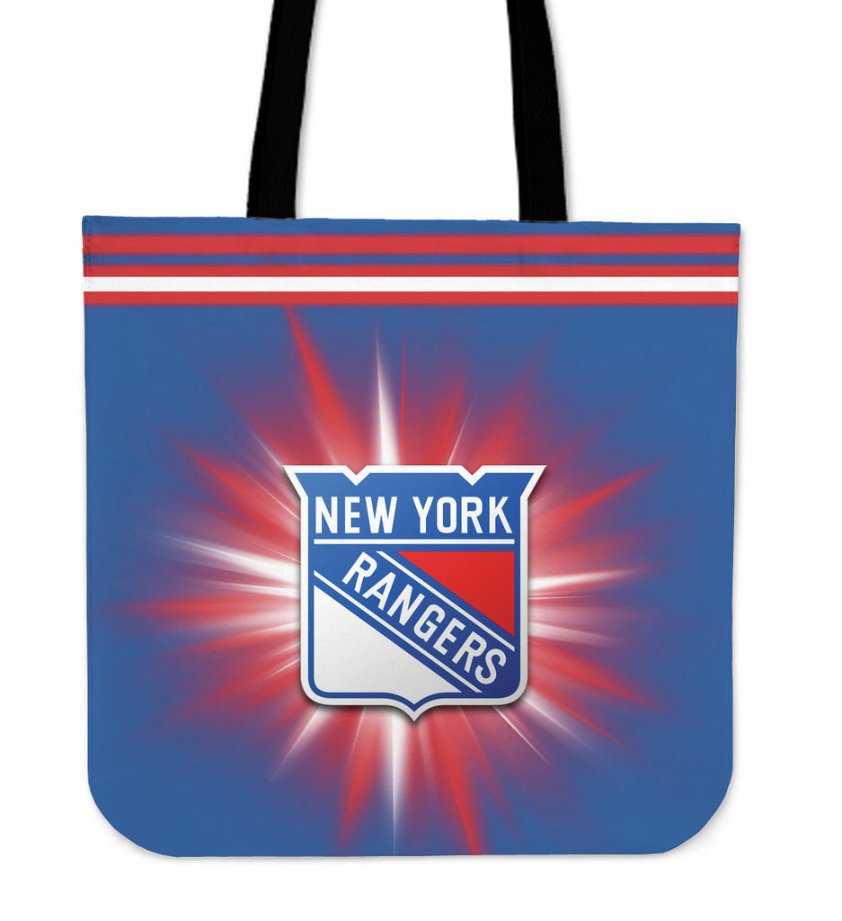 New York Rangers Flashlight Tote Bags - Best Funny Store