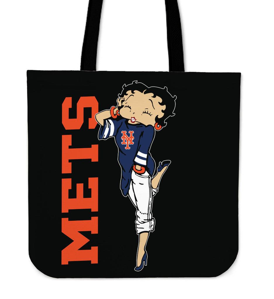 BB New York Mets Tote Bag For Women - Best Funny Store
