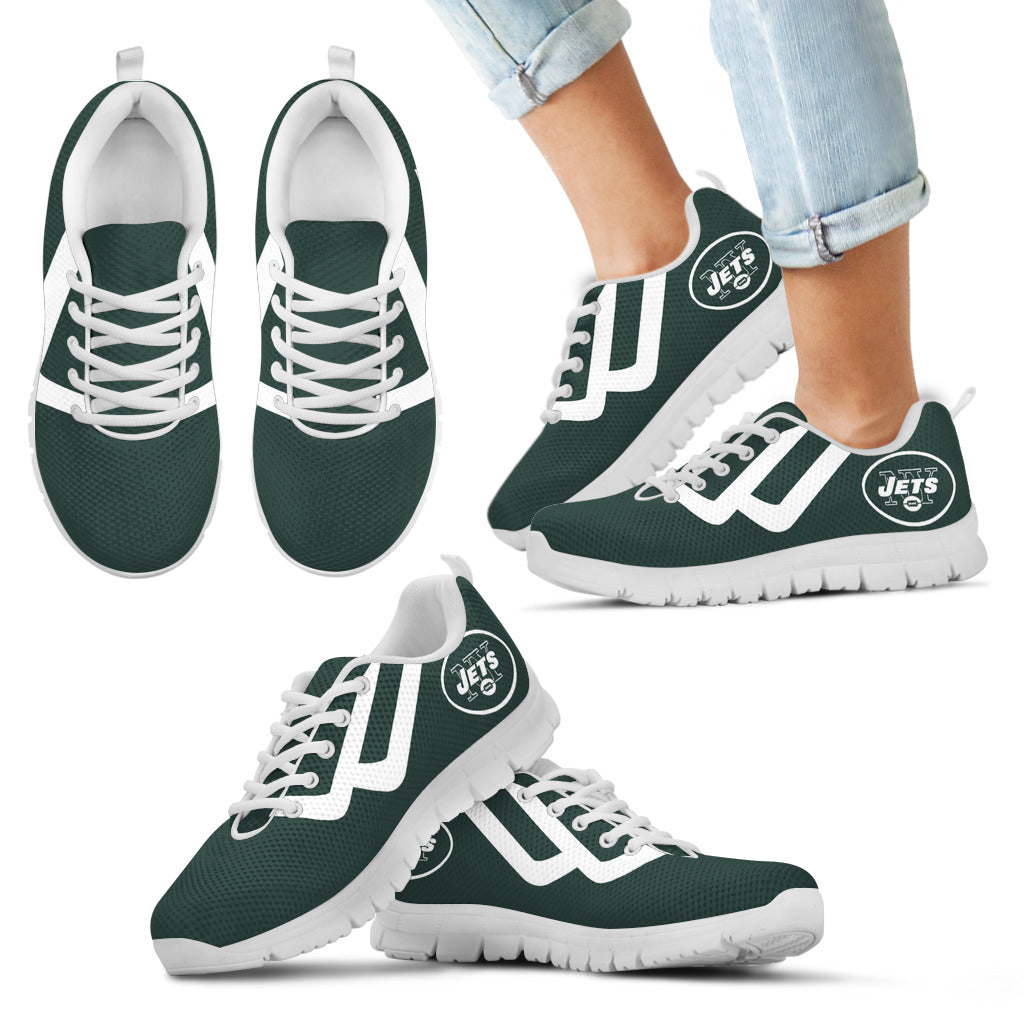 Line Bottom Straight New York Jets Sneakers