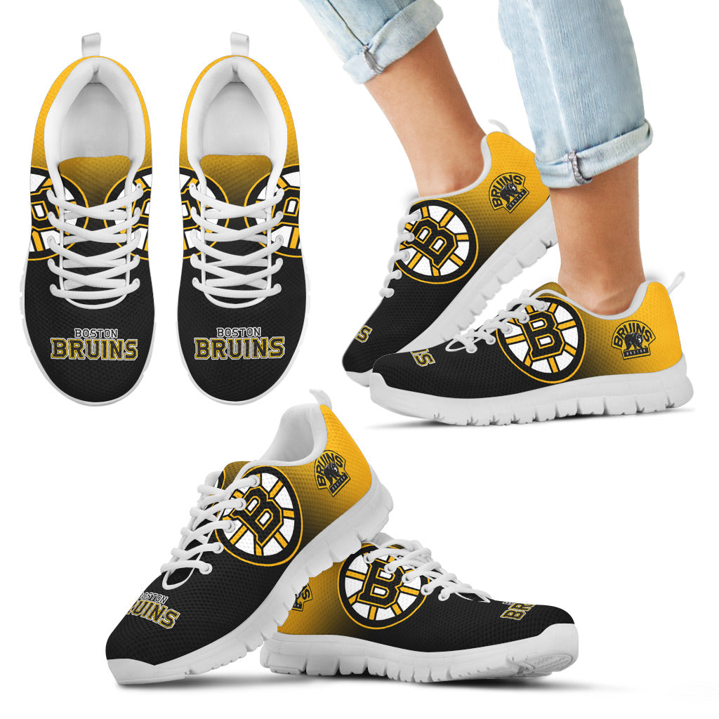 Special Unofficial Boston Bruins Sneakers