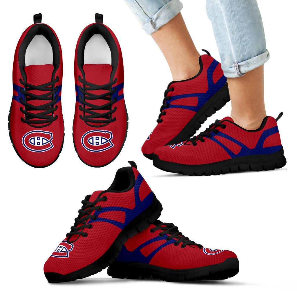 Line Amazing Bottom Montreal Canadiens Sneakers