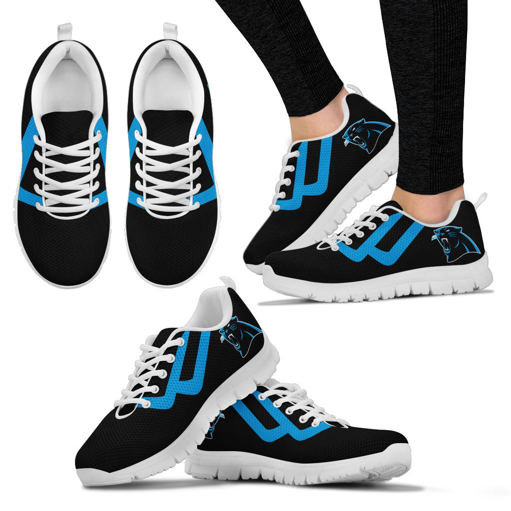 Line Bottom Straight Carolina Panthers Sneakers