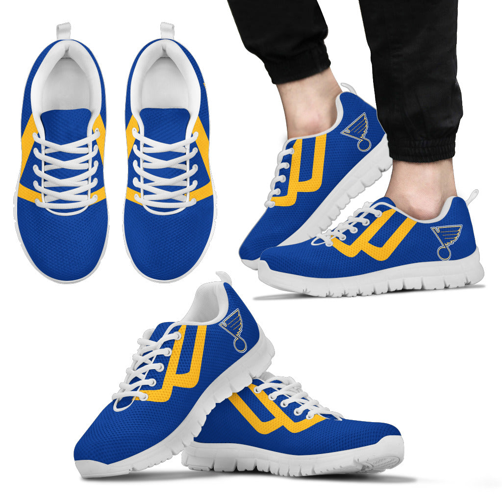 Line Bottom Straight St. Louis Blues Sneakers
